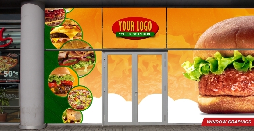 Graphic Design for Window Graphics