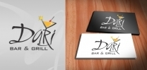 Dari Bar and Grill Logo Design