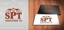 SPT Construction Logo Design