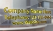 Door Signs Company ID