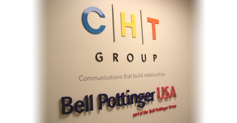 CHT Group Non-Illuminated 3D Letters and Logos