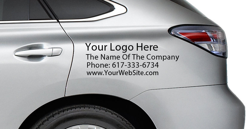 Vehicles Commercial Requirements with Your Company Logo