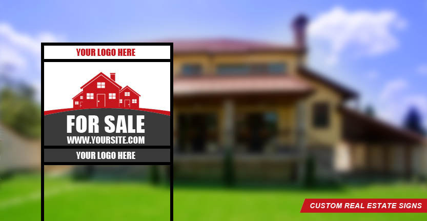 Custom Real Estate Sign for Sale