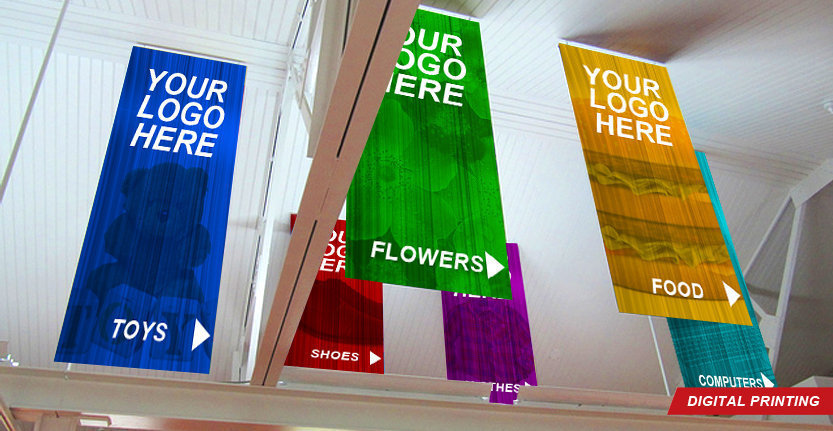 Digital Printing of Interior Banners