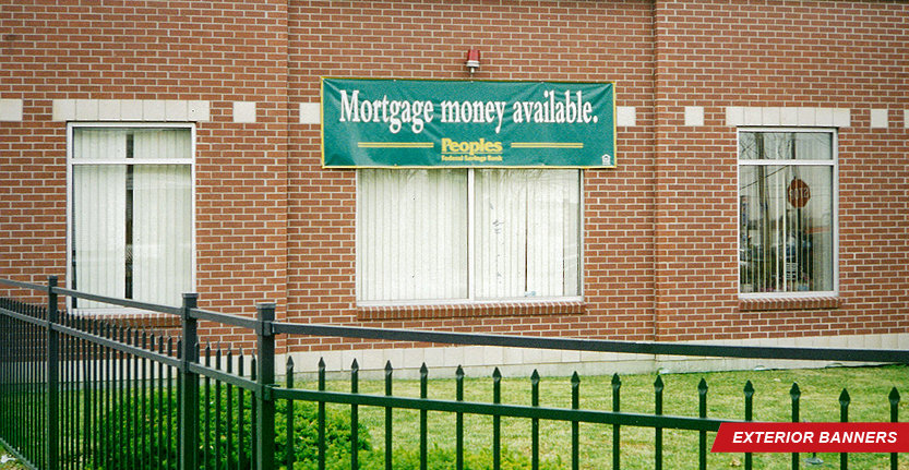 Mortgage Money Available Exterior Banner