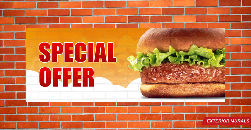 Exterior Wall Murals with Special Offer