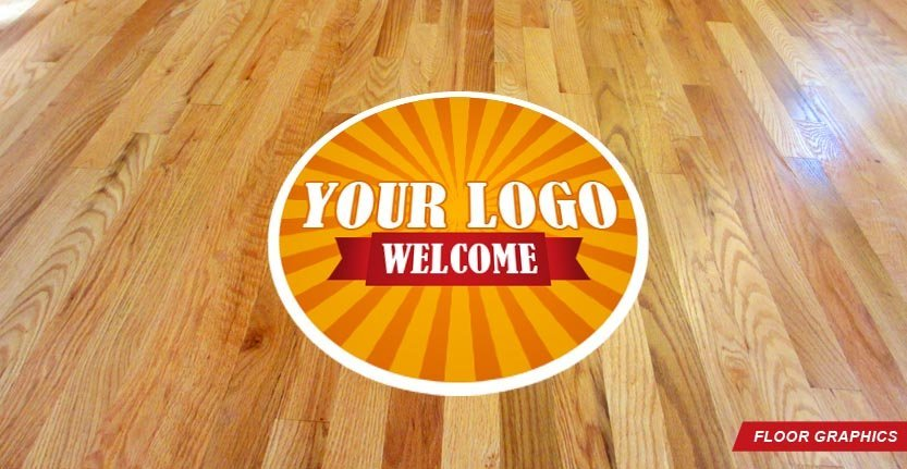 Floor Graphic with Your Logo