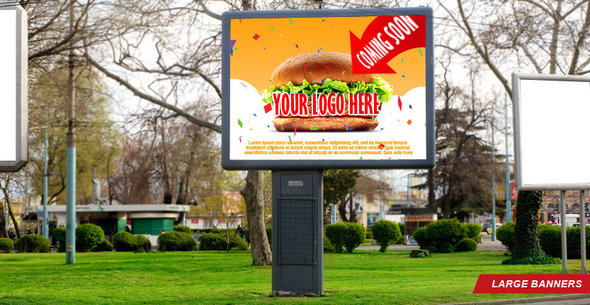 Large Banner with Your Company Logo