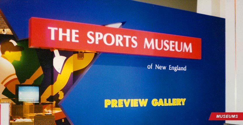 Museum Wall Signage for The Sport Museum
