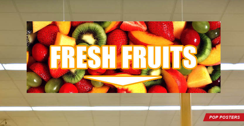 Fresh Fruits POP Poster