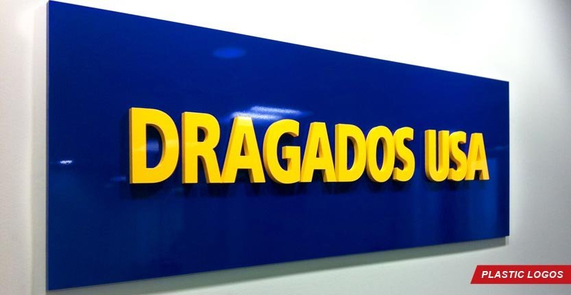 Dragados USA Plexi Lobby Sign