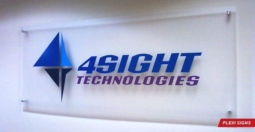 4Sight Plexi Lobby Sign