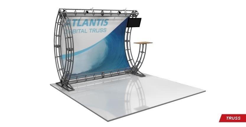 Trade Show Atlantis Truss Display
