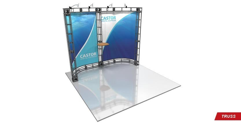 Trade Show Castor Truss Display