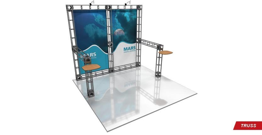 Trade Show Mars Truss Display