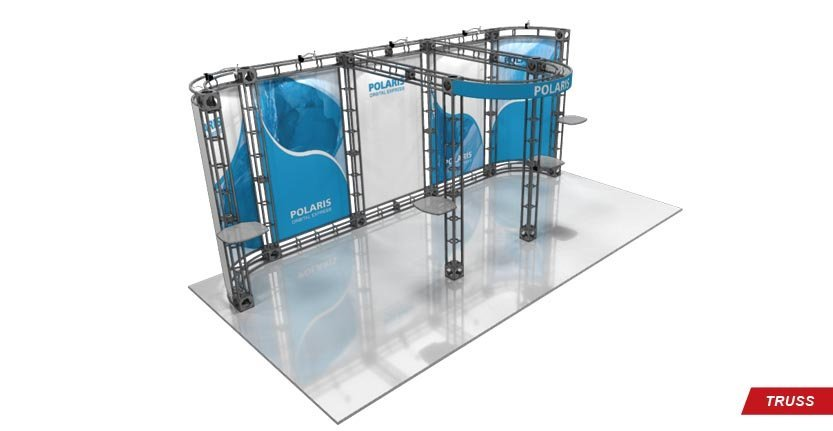 Trade Show Polaris Truss Display