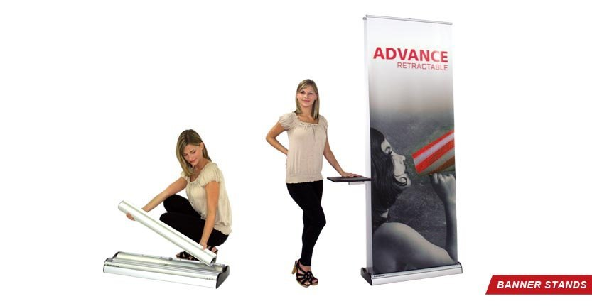Advance Banner Stand for Trade Shows