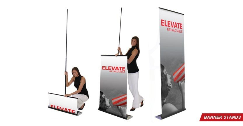 Elevate Banner Stand for Trade Shows
