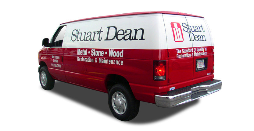 Vehicles Vinyl Lettering of Stuart Dean