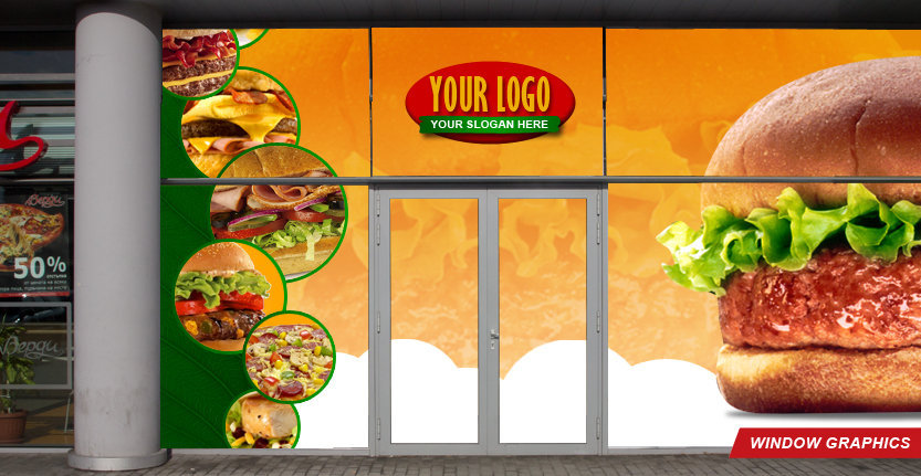 Window Graphic with Your Company Name