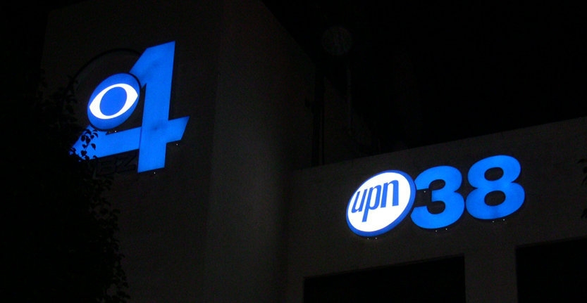 Upn38 Illuminated 3D Letters