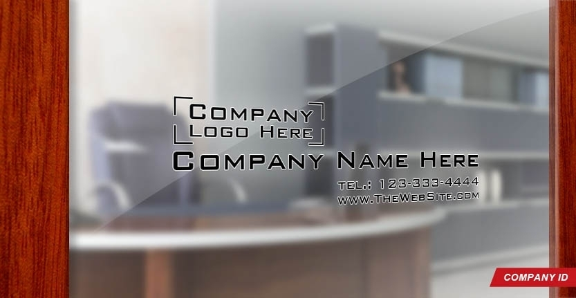 Door Signs Company ID with Your Logo