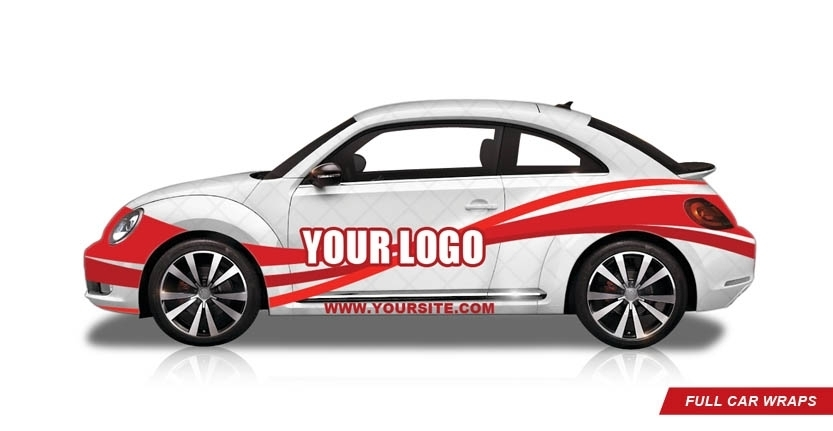 Vehicles Full Car Wrap with Your Logo
