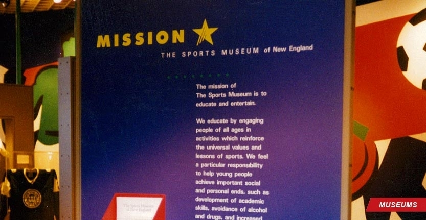 Museum Wall Signage of Mission