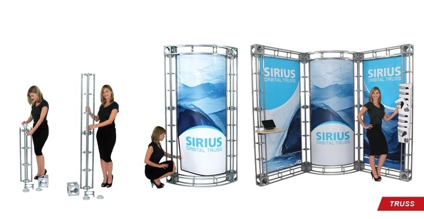 Trade Show Sirius Truss Display