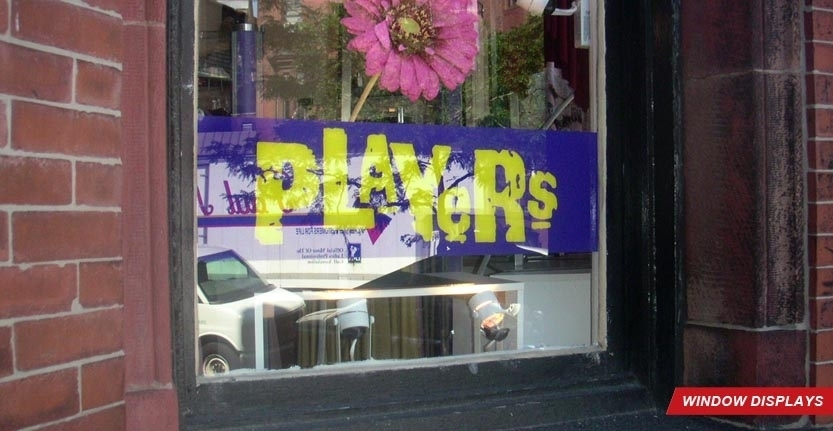 Players Window Display